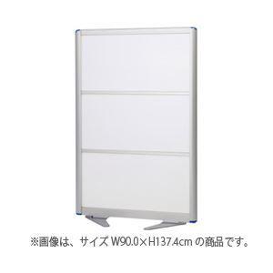 その他 アルミローパーティション 半透明 W60.0×H137.4cm ds-1098868