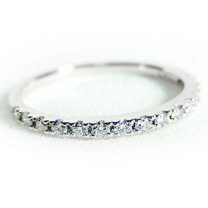 その他 ダイヤモンド リング ハーフエタニティ 0.2ct 12号 プラチナ Pt900 ハーフエタニティリング 指輪 ds-1238434:爆安!家電のでん太郎