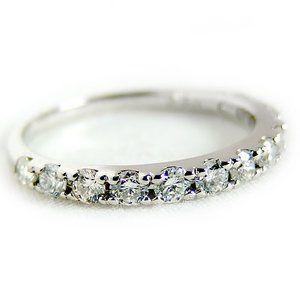 その他 ダイヤモンド リング ハーフエタニティ 0.5ct 13号 プラチナ Pt900 ハーフエタニティリング 指輪 ds-1238508:爆安!家電のでん太郎