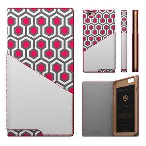 その他 iPhone6s/6 ケース SLG Design D0 Combi Calf Skin Artificial Leather Diary(エスエルジ—デザイン D0 コンビ カーフスキンアーティフィシャルレザーダイアリー)アイフォン( red) ds-1648651