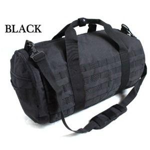 その他 アメリカ軍 2WAYボストンバッグ/鞄  モール対応/ウレタン素材入り BH055YN ブラック   ds-1648827