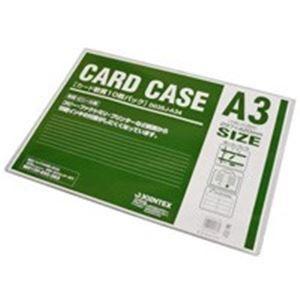 その他 (業務用20セット) ジョインテックス カードケース軟質A3*10枚 D035J-A34 ds-1732477
