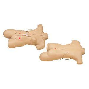 その他 外科包帯法シミュレーター/看護実習モデル人形 【手術創/全身14ヶ所】 M-111-2【代引不可】 ds-1877960
