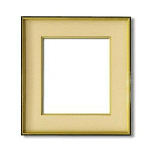 その他 【色紙額】黒い縁に金色フレーム 色紙用 壁掛けひも ■黒金 色紙(マット付き)273×242mm ベージュ ds-1997905