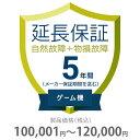 物損付き保証 5年間に延長 ゲーム機 100001〜120000円 K5-BG-553321