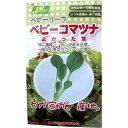 花き園芸部 ベビーリーフ ベビーコマツナ(よかった菜)(1袋入)
