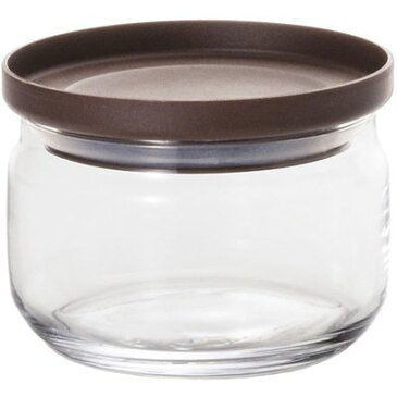 アデリア ガラス保存容器 スタックキャニスターS チョコ M-6243 1コ入 4963972862433【納期目安:2週間】