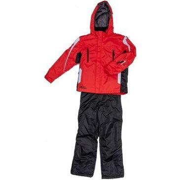 ジョイライド 子供(男の子)スキーウエア 上下組 (赤色150) JOB-3338-R150