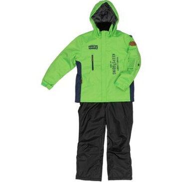 コスビー 子供(男の子)スキーウエア 上下組 (ライム色150) CSB-3276-lime150
