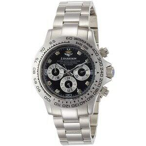 その他 J.harrison 腕時計8石天然ダイヤモンド付多機能自動巻&手巻き腕時計 JH-014DS メンズ ds-2193333