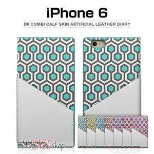 その他 SLG Design iPhone6 D0 Combi Calf Skin Artificial Leather Diary ライム ds-2199389