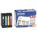 その他 (まとめ) エプソン EPSON インクカートリッジ 4色パック IC4CL69 1箱(4個:各色1個) 【×10セット】 ds-2229993