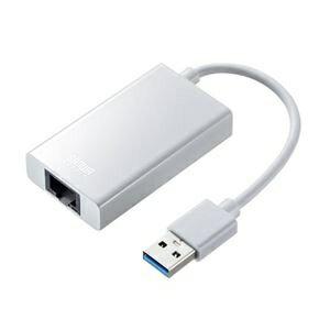その他 サンワサプライ USB3.1-LAN変換アダプタ(USBハブポート付・ホワイト) USB-CVLAN3W ds-2269258