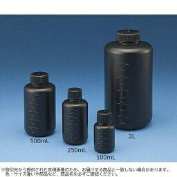 Jボトル丸型 細口 遮光 1L 滅菌済 15-2305-55【納期目安:2週間】