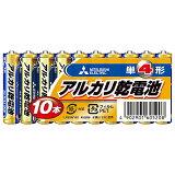 アルカリ乾電池(シュリンクパック) 単4形 10個入 LR03N/10S