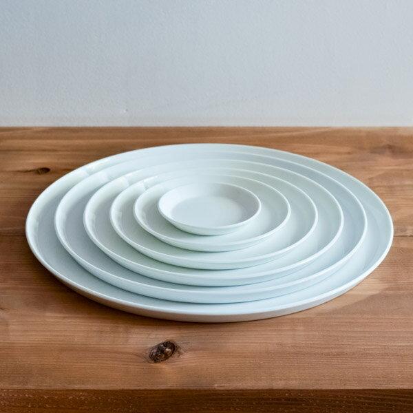 【有田焼】TY Round Plate White 6size set