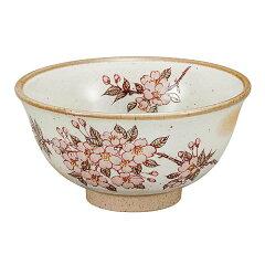 九谷焼 茶椀 桜