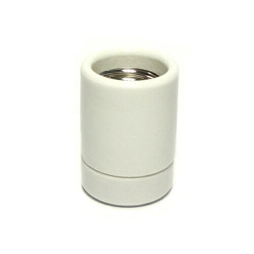 青山電陶 E26小モーガルソケット 磁器製 (二穴) E26-02
