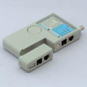関西通信電線 ケーブルテスター 対応:RJ-45/RJ-11/USB CT-86BU