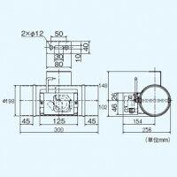 三菱煙逆流防止ダンパー適用パイプ:Ψ200P-23DE4