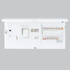 パナソニック エコキュート・電気温水器・IH対応 住宅分電盤 LAN通信型 ブレーカ容量30A リミッタースペース付 主幹容量40A 《スマートコスモ》 BHH34383T3:電材堂