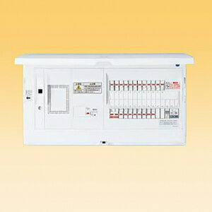 パナソニック LAN通信型 住宅分電盤 地震かみなりあんしんばん あんしん機能付 リミッタースペース付 露出・半埋込両用形 回路数20+回路スペース2 《スマートコスモコンパクト21》 BHH37202ZR:電材堂