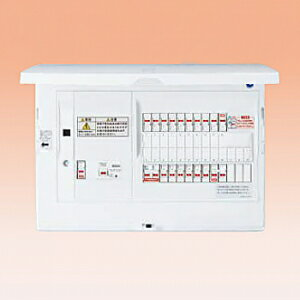 パナソニック LAN通信型 HEMS対応住宅分電盤 《スマートコスモ コンパクト21》 蓄熱暖房器・IH・エコキュート・電気温水器(エコキュート用・電気温水器用ブレーカ容量30A)対応 リミッタースペースなし 回路数36+回路スペース数3 BHH810363Y35:電材堂