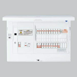 パナソニック エコキュート・IH対応 住宅分電盤 LAN通信型 ブレーカ容量20A リミッタースペース無 主幹容量60A 《スマートコスモ》 BHH86103T2:電材堂