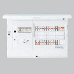 パナソニック エコキュート・電気温水器・IH対応 住宅分電盤 LAN通信型 ブレーカ容量30A リミッタースペース無 主幹容量60A 《スマートコスモ》 BHH86183B3:電材堂