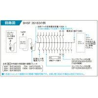 パナソニックレディ型住宅分電盤フリースペース付リミッタースペースなし露出・半埋込両用形回路数18+回路スペース3《スマートコスモコンパクト21》BHSF86183