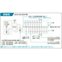 パナソニックレディ型住宅分電盤標準タイプリミッタースペース付露出・半埋込両用形回路数38+回路スペース3《スマートコスモコンパクト21》BHS34383