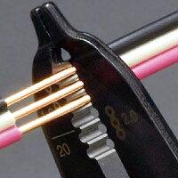 ホーザンVVFストリッパーVVF・EM-EEFケーブル(エコ電線)ストリップアシスト用バネ・ストリップスケール付P-958