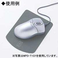 サンワサプライマウスパッドタテ形タイプ超小型サイズダークブルーMPD-T1DBL