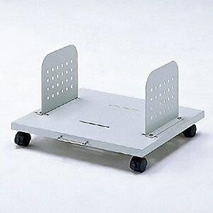 サンワサプライ パソコン本体設置用CPUスタンド 2台設置用 取付幅345〜445mm無段階調節可能 耐荷重50kg CP-030