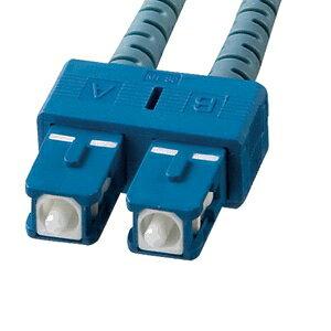【受注生産品】 サンワサプライ タクティカル光ファイバケーブル 2芯タイプ マルチモード コア径50ミクロン SCコネクタ×2-SCコネクタ×2 30m HKB-SCSCTA5-30