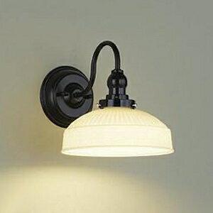 DAIKO LEDブラケットライト 電球色 非調光タイプ 白熱灯60Wタイプ E26口金 壁面取付専用 ガラス製セード DBK-39524Y
