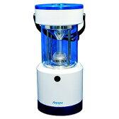 日本協能電子 LEDランタン LED×8灯 連続点灯約120時間 パワーバー付 高さ253mm 《Aqupaランプ》 白/紺 LP-250