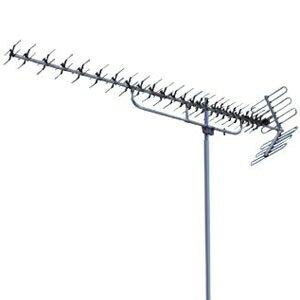 マスプロ アンテナ 壁面取付用UHFアンテナ ブラックブロンズ|住宅設備・電材 【送料無料】 アンテナ U2SWLA20B アンテナ・配線部材 (BB)