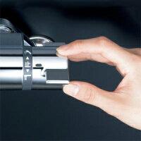 KVKサーモスタット式シャワー寒冷地用洗い場専用水栓80mmパイプ付《KF800Tフルメタルシリーズ》KF800WTN