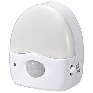 電材堂 3LEDミニ赤外線センサーライト 乾電池式 高輝度白色LED×3灯 人感・明暗センサー付 SE40DNZ