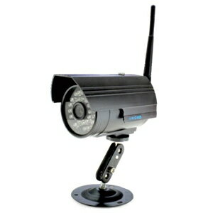 ダイトク Wi-Fi対応ネットワークカメラ 《スマ見えCAM》 屋外対応 防水タイプ パソコン接続不要 ACアダプタ付属 GS-SMC010