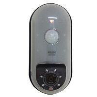 リーベックスSDカード録画式センサーカメラCMOS-30万画素電池式センサーライト付SD1000