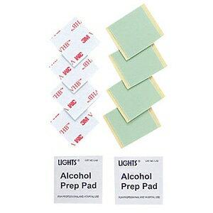 サンワサプライ 両面テープ&アルコールパッド QL-58耐震ストッパー交換用 QL-OP8