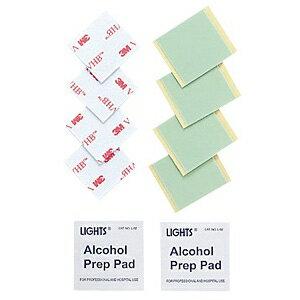 サンワサプライ 両面テープ&アルコールパッド QL-59耐震ストッパー交換用 QL-OP9