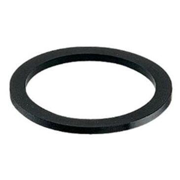 カクダイ 排水用平パッキン キセル管・ステッキ管・トラップU管用 呼び32 外径38mm NBR製 492-051