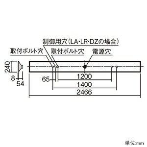 パナソニック 【お買い得品 10台セット】 一体型LEDベースライト 《iDシリーズ》 110形 埋込型 下面開放型 W220 一般タイプ 13400lmタイプ 非調光タイプ Hf86形定格出力型器具×2灯相当 昼光色 XLX830UEDCLE2_set
