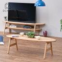 フォールディングテーブル 机 テーブル 折りたたみ式 折れ脚 木製 オーク サーフボードモチーフ おしゃれ ...