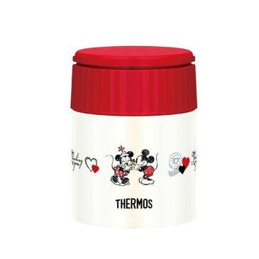 THERMOS(サーモス) Disney(ディズニー) ミッキー&ミニー 真空断熱スープジャー NV-R・ネイビーレッド JBQ-300DS ※納期10営業日前後
