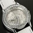 プーさん×スワロフスキー腕時計ハッピークリスタル ホワイト