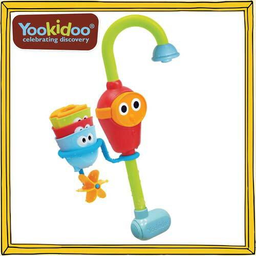 Yookidoo(ユーキッド) お風呂シャワー 水中めがねのお風呂おもちゃ 9か月〜 12760116